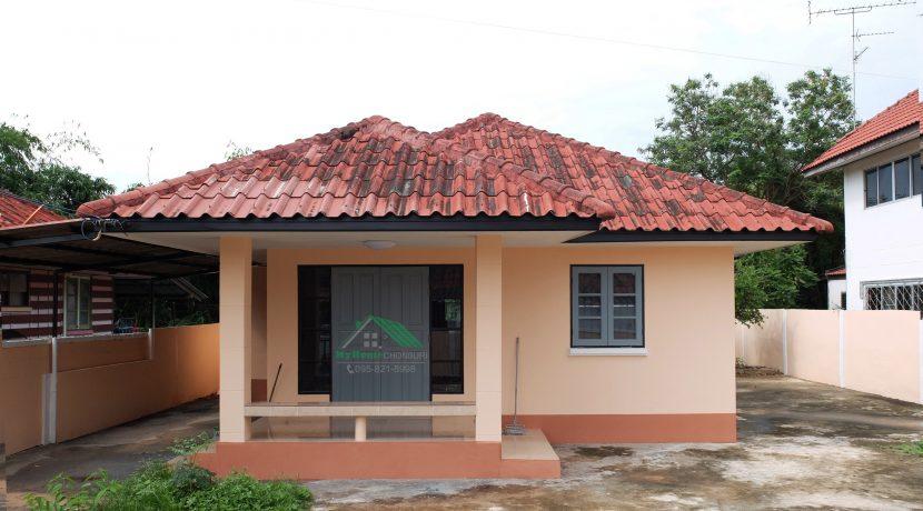 001 บ้านเดี่ยว 1 ชั้น ใกล้กับนิคมฯเครือสหพัฒน์ พื้นที่ 70 ตรว
