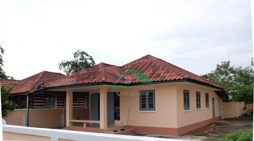 008 บ้านเดี่ยว 1 ชั้น ใกล้กับนิคมฯเครือสหพัฒน์ พื้นที่ 70 ตรว