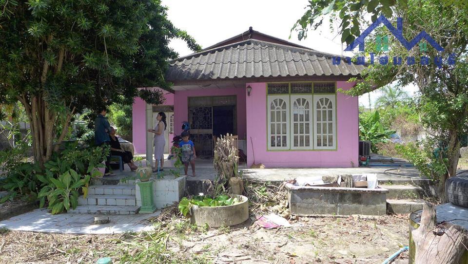 ขายถูกสุดๆ!! บ้านเดี่ยว ชั้นเดียว ตะเคียนเตี้ย ซอย 33 บางละมุง พัทยา 2ห้องนอน 2ห้องน้ำ 1ห้องครัว พื้นที่ 271ตร.ว