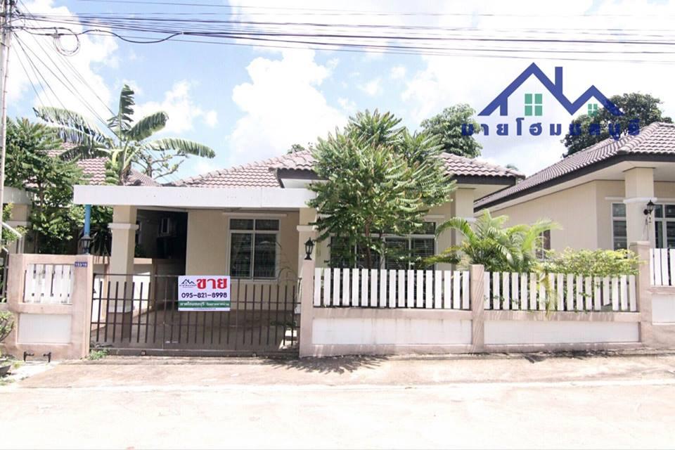 ขายด่วน!! บ้านแฝดสไตล์บ้านเดี่ยว ชั้นเดียว หมู่บ้านพรนรินทร์ ใกล้สวนเสือ ศรีราชา 2ห้องนอน 2ห้องน้ำ 1ห้องโถง 1ห้องครัว พื้นที่ 44ตร.ว จอดรถยนต์ได้ 1 คัน
