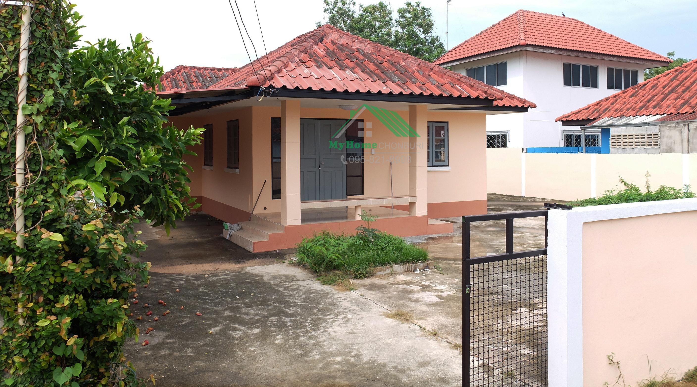 009 บ้านเดี่ยว 1 ชั้น ใกล้กับนิคมฯเครือสหพัฒน์ พื้นที่ 70 ตรว