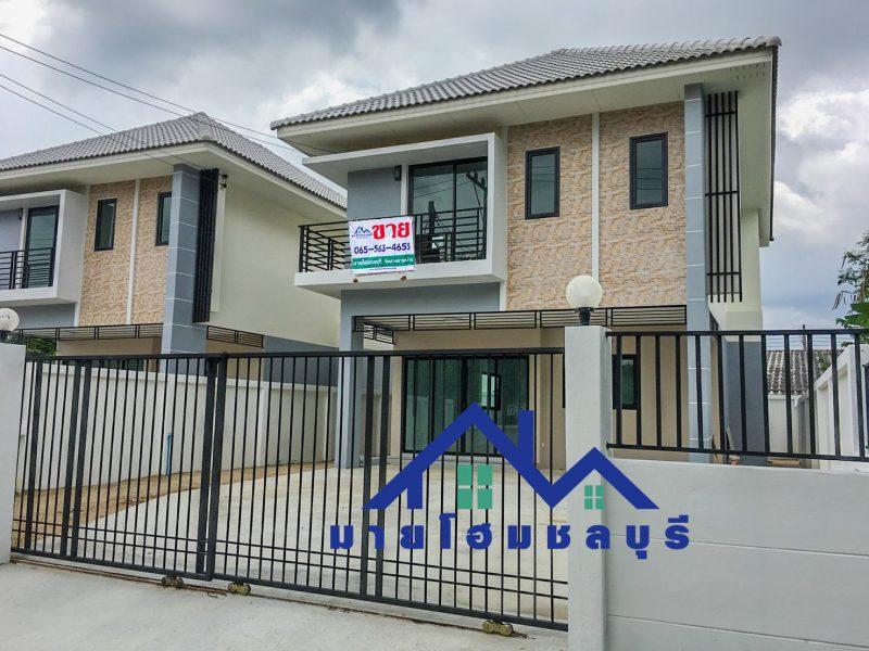 ขายบ้านโครงการใหม่ มือ1 บ้านเดี่ยว 2 ชั้น เขาขยาย – บึง – บ่อวิน ศรีราชา