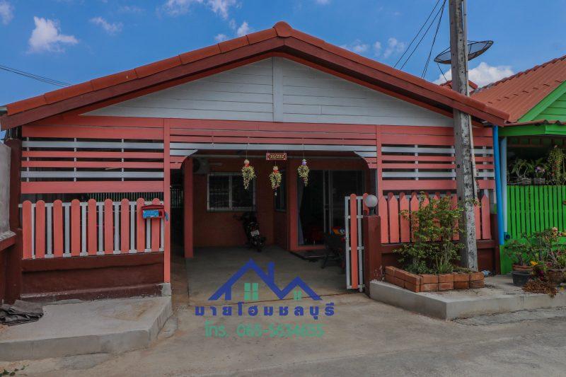 ขายทาวน์เฮ้าส์ ทาวน์โฮม ตะเคียนเตี้ย โรงโป๊ะ หมู่บ้านสุขสิริ ชั้นเดียว แปลงมุม